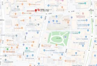 矢場トン地図