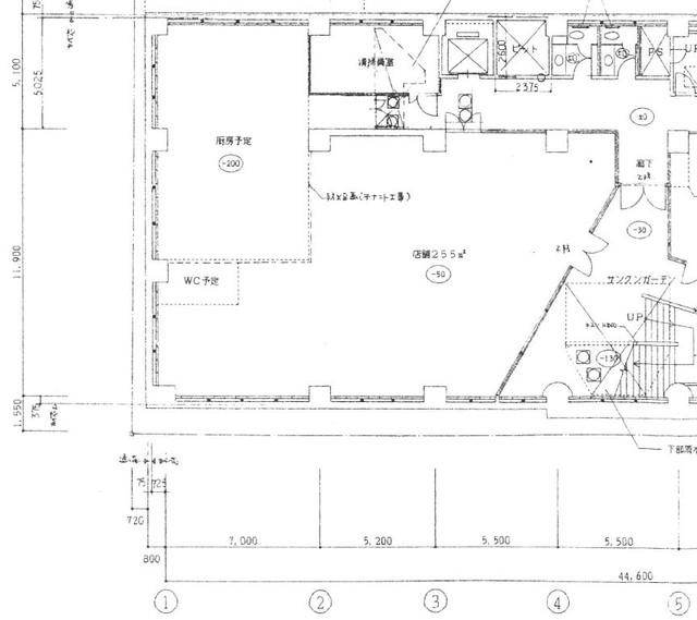 栄センタービル 地下1階図面