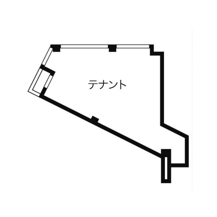 椿町 WEST NAGOYA 56 平面図