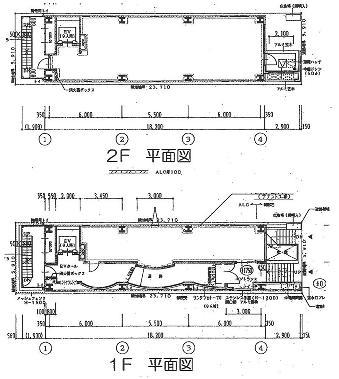 錦3 オークラビル 平面図