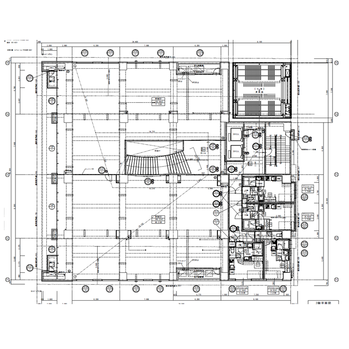 錦2 さくらHills NISHIKI Platinum Residence 平面図