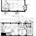 クリエイトセンタービル1階・地下1階平面図