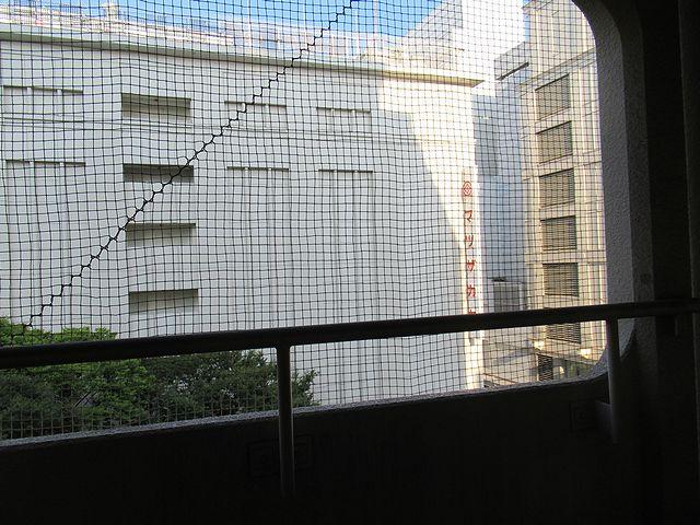 バルコニーからの眺め 松坂屋目の前