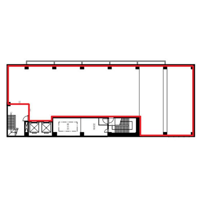 金山4 金山共同ビル 平面図