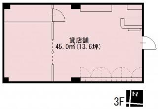 3階間取図
