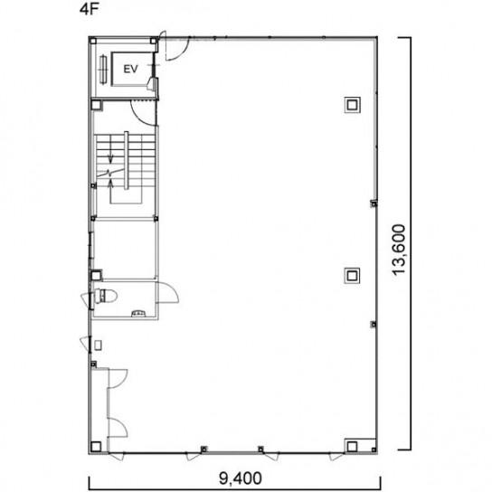 平面図 4階