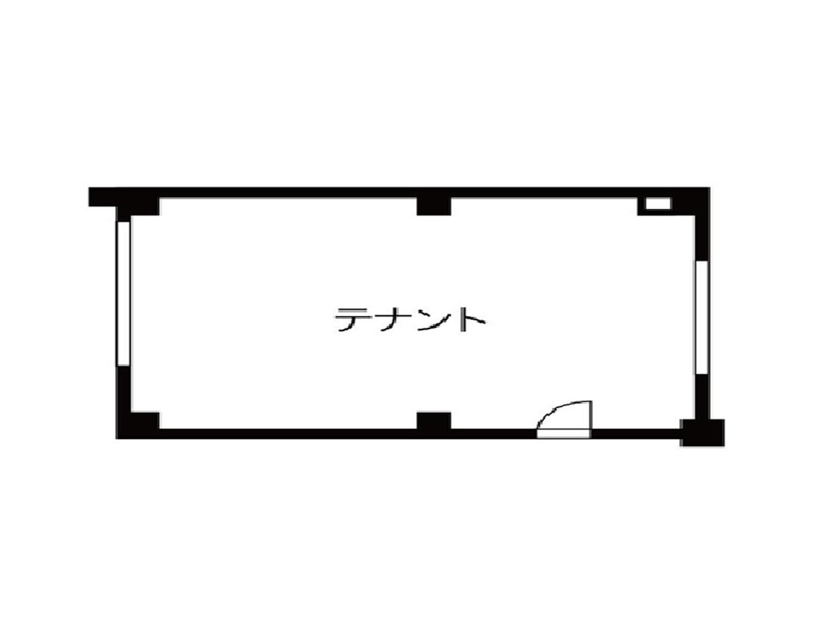 泉1 HASEGAWAビル 平面図