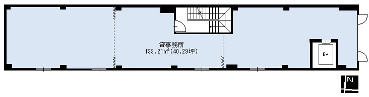 4階間取図