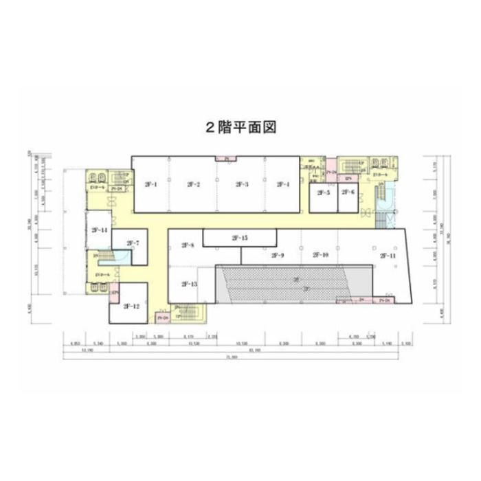 大須3 万松寺ビル 平面図