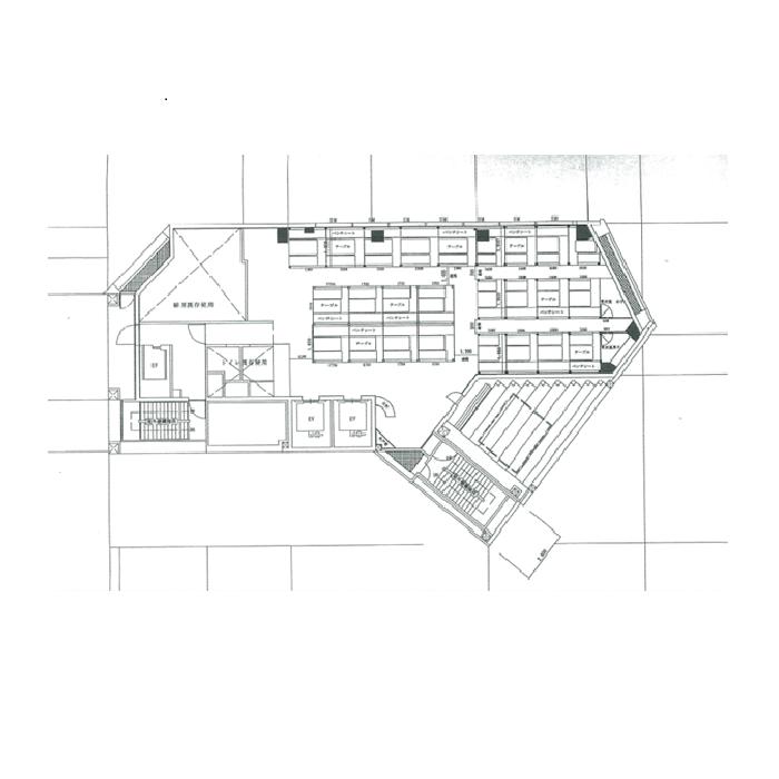 名駅2 オーキッドGビル 平面図