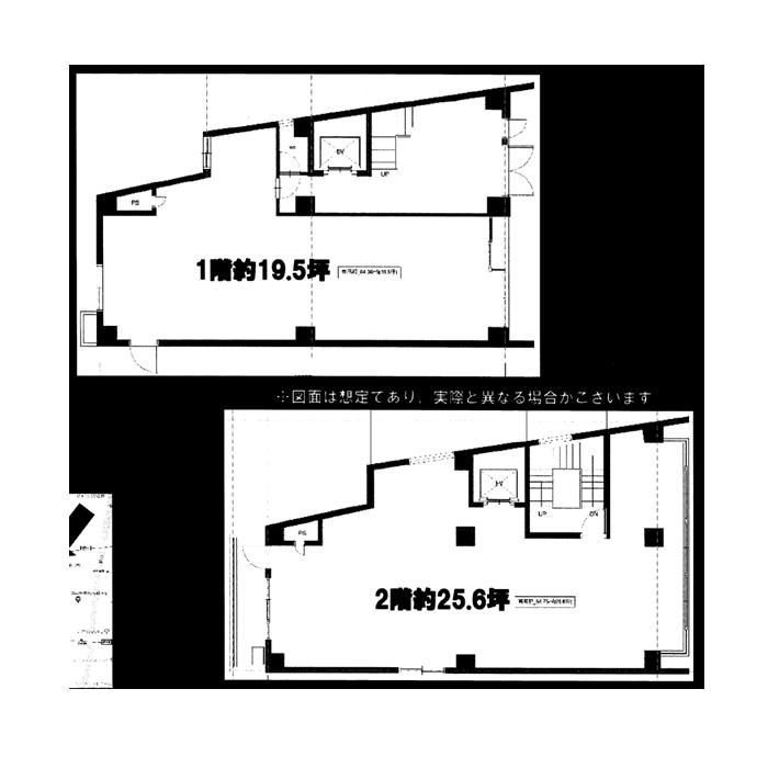 名駅5 名駅5丁目ビル 平面図