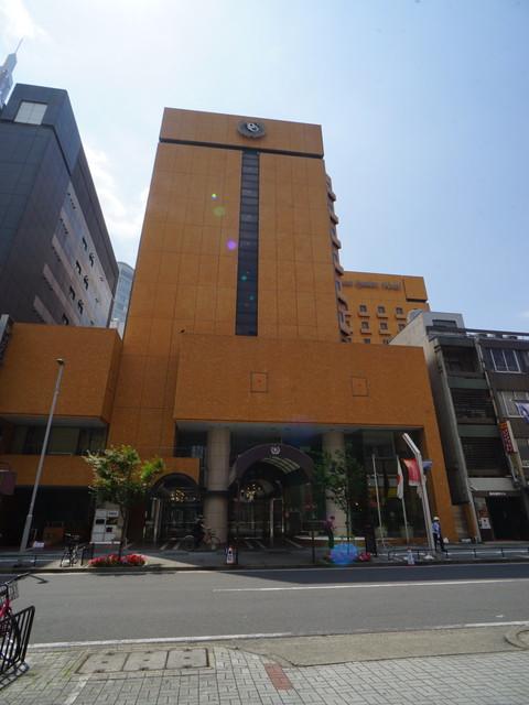 栄3 プリセンスガーデンホテル 外観