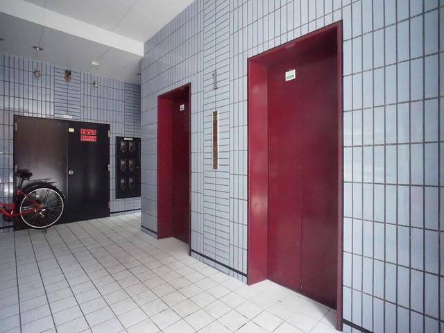 エレベーターホール②
