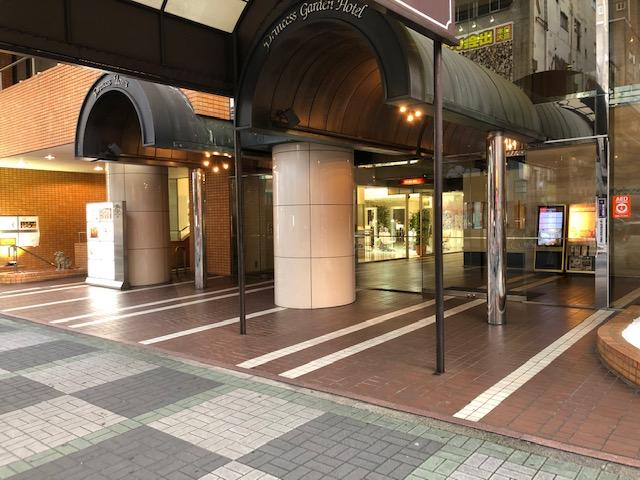 プリンセスタウン地下1階11号室 外観②