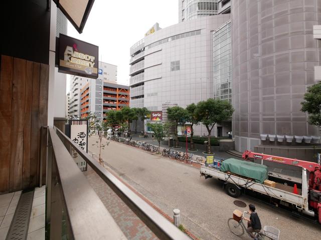 2階テラスからの眺望
