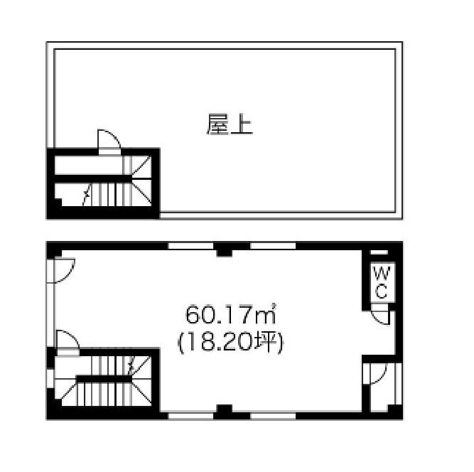 (仮称)大須観音表参道PJ 3階平面図