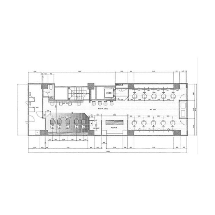 錦3 大丸ビル 平面図