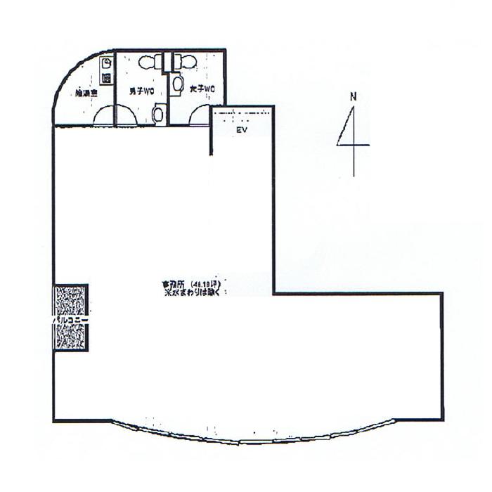金山1 ベルデマーレ 平面図