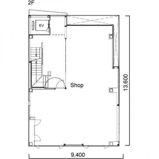 平面図 2階