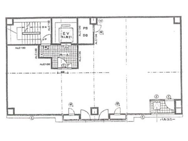 ルパルクMK5階間取り図