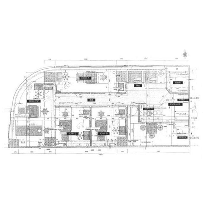 錦2 アベニューフシミ1601 平面図