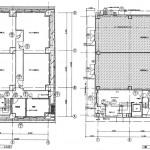 フカヤビル1階・地下1階平面図