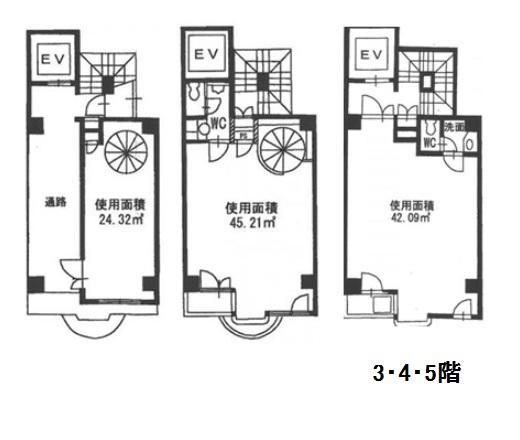 クレスト泉 3-5階図面