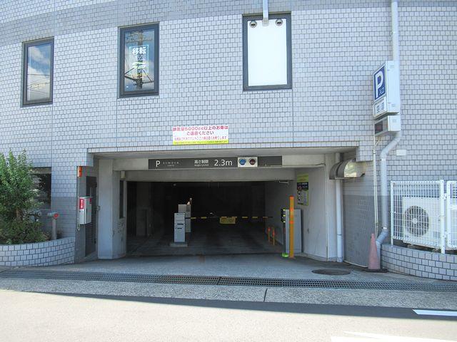 施設内駐車場