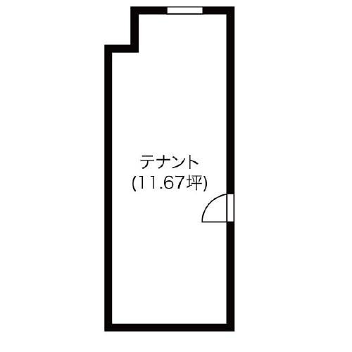 アソルティ新栄1階 間取り図