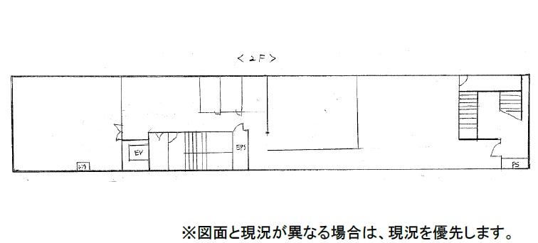 日新錦ビル2階間取り図