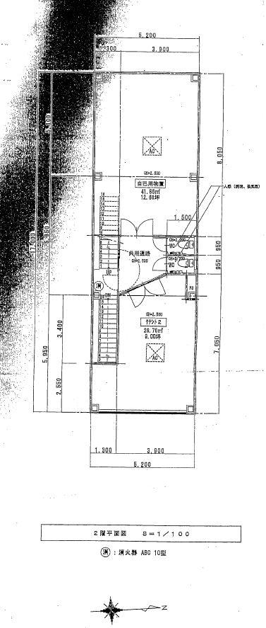 伊藤ビル 平面図