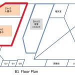 中央広小路ビル地下1階区画図