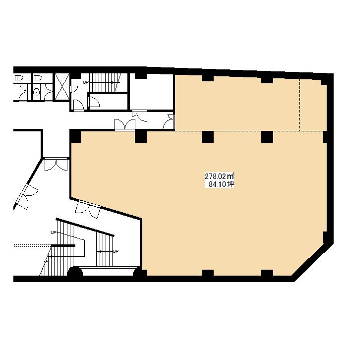 栄3 栄センタービル 地下1階図面