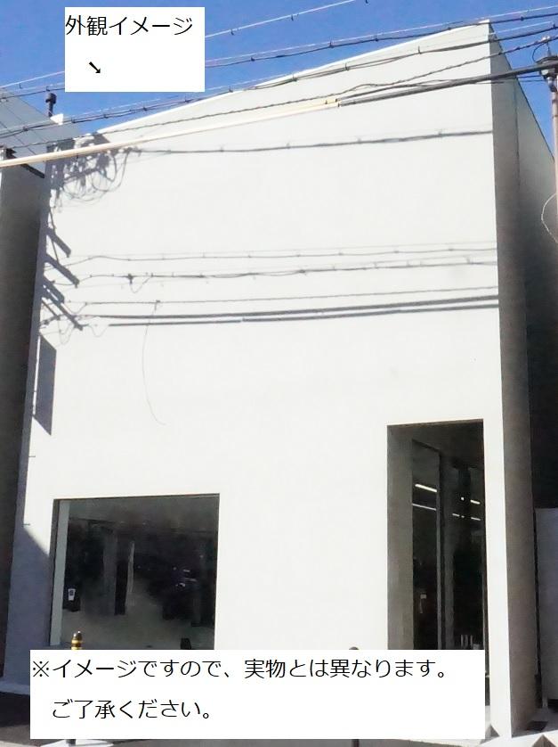 (仮称)栄三丁目貸店舗 外観イメージ