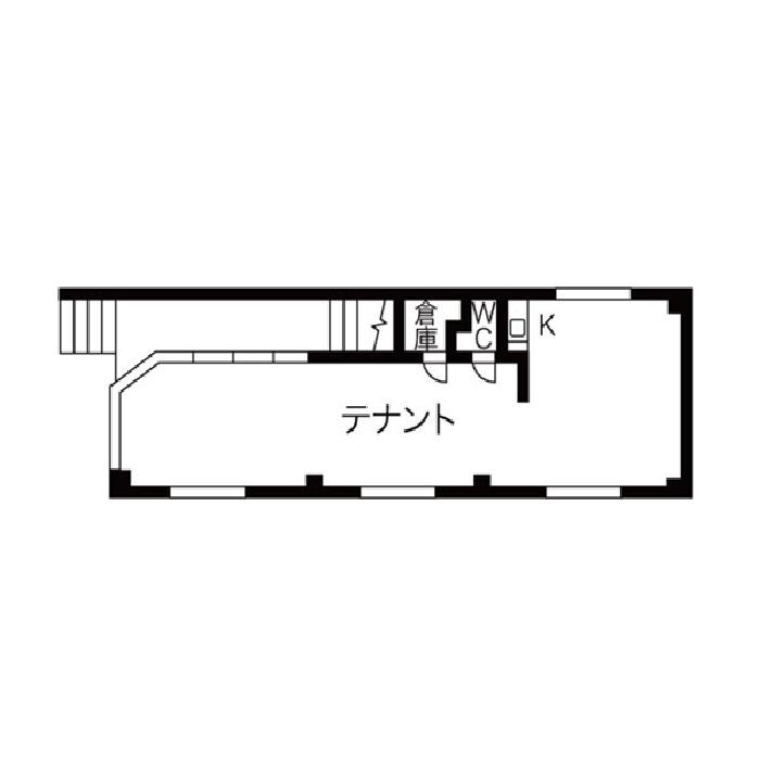 隼人町 寿秀ハウス 平面図