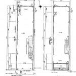 万松寺通1-2階貸店舗平面図