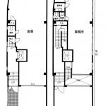 エイテックイヅミ1-2階平面図