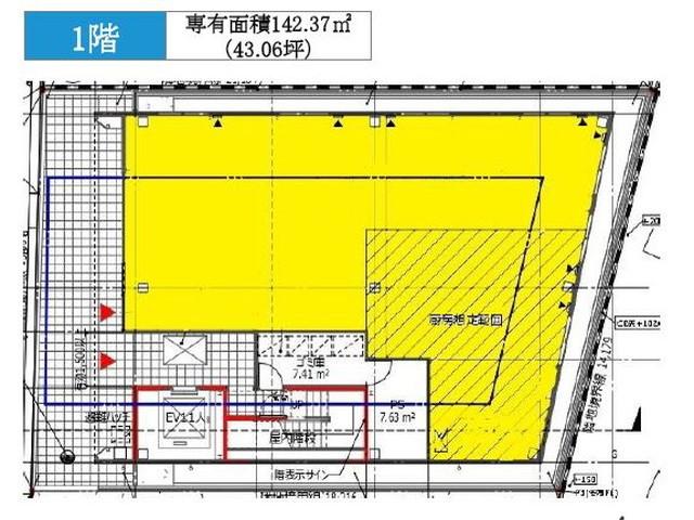 コスモス名駅2丁目テナントビル(間取)