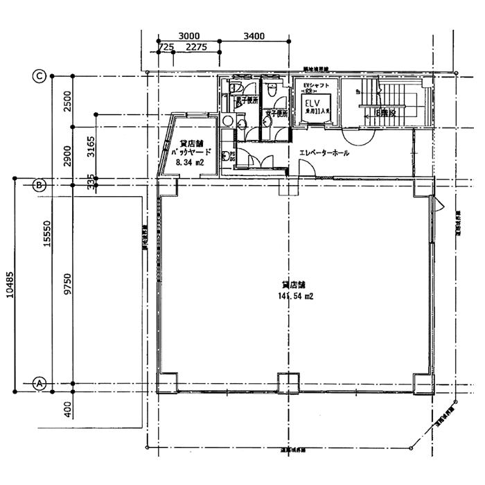 矢田1 メイフィス大曽根ビル 平面図
