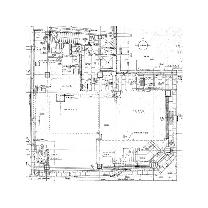 大須3 ヒルズ大須 平面図(1階)