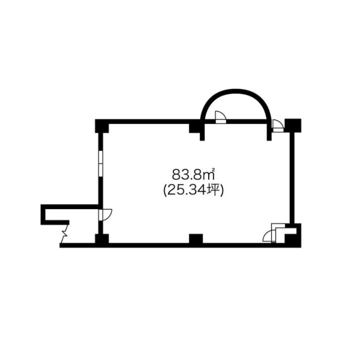 則武1 協和名駅ビル 平面図