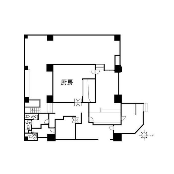 新栄1 郷原ビル 平面図