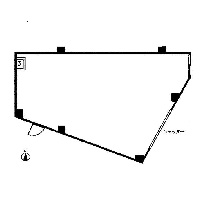 広路町 シャトー楼蘭 平面図