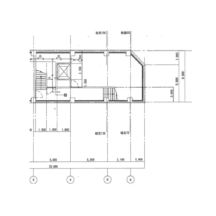 名駅4 名駅K-2ビル 平面図