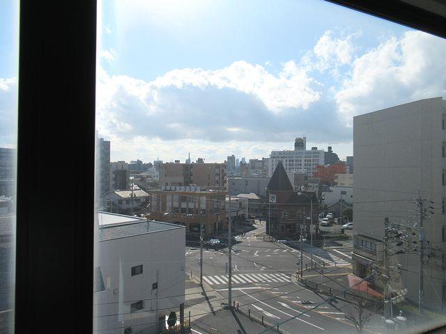 5階からの眺め