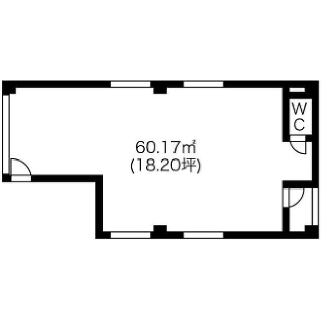 (仮称)大須観音表参道PJ 2階平面図