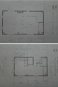 ビルフレンズ6-7階間取図