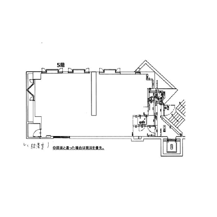 名駅4 マルイト名古屋ビル 平面図