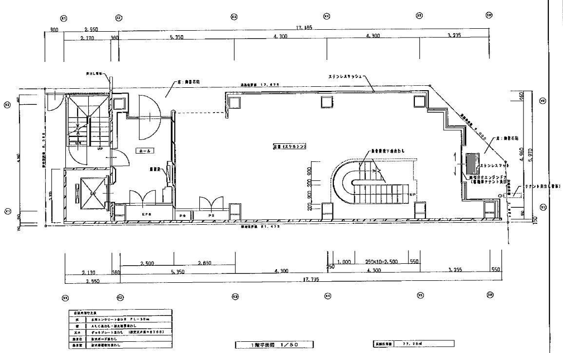 錦3 GI368 1階平面図