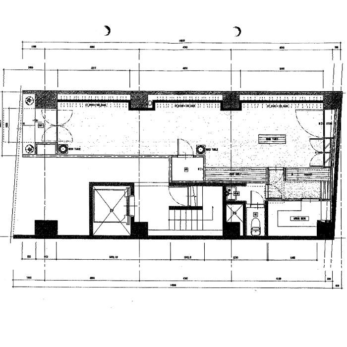 栄三丁目 食器ビル1階図面